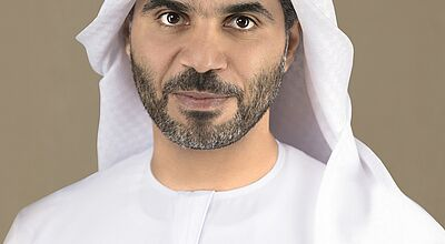 Photo: Humaid Matar Al Dhaheri, Group CEO, ADNEC