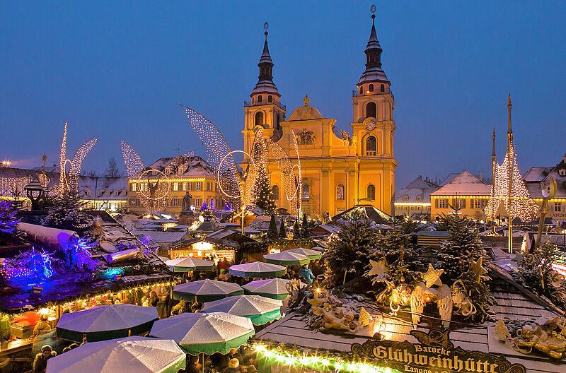Ludwigsburg Weihnachtsmarkt.Die Lebendige Barockstadt