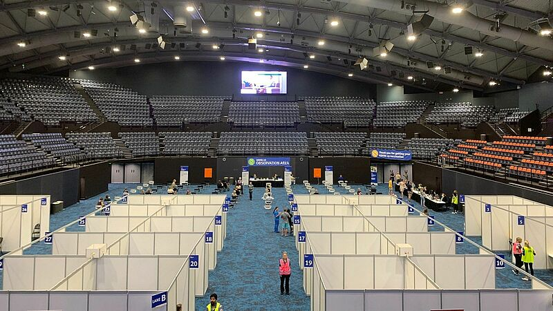 CIMunity: Cairns Convention Centre becomes Vaccination Hub