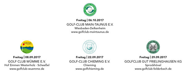 CIM GOLF TROPHY 2017 CLUBS